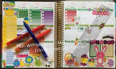 ♛ Plan With Me EP15 l Erin Condren Life Planner l Using Oh Hello Station...
