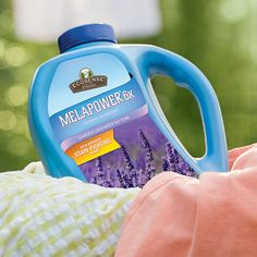 "This stuff smells AMAZING, too!!!   ""It's back, and this time to stay! Garden Lavender MelaPower gives you a calming and fragrant bouquet of lavender right in your laundry room. Just another reason to love MelaPower. #whyilovewellness #whynotyours"""