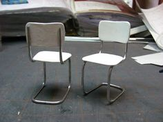 How to make a metal tubular kitchen chair
