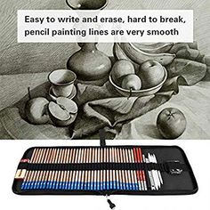Drawing Tools, Drawing Techniques, Drawing Sketches, Pencil Drawings, Art Drawings, Pencil Painting, Painting & Drawing, Study Desk Organization, Wood