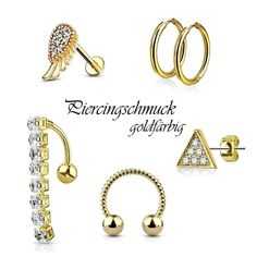 "Piercing Trend Shop's Instagram photo: ""🔥Goldfärbiger Piercingschmuck🔥 einfach und schnell online kaufen.    #piercingshop #piercingschmuck #goldpiercing #bauchnabelpiercing…"" Trends, Shops, Gold, Instagram, Bracelets, Jewelry, Navel Piercing, Simple, Tents"