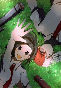Momo Yaoyorozu x Shoto Todoroki - Boku No Hero Academia #GG #anime