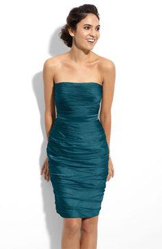 Beth's dress - peacock