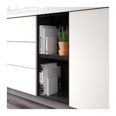 TUTEMO Rangement ouvert - anthracite, 40x37x40 cm - IKEA