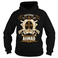 I Love AHMAD, AHMADBIRTHDAY, AHMADYEAR, AHMADHOODIE, AHMADNAME, AHMADHOODIES - TSHIRT FOR YOU T-Shirts