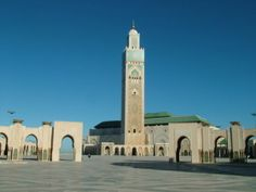 Mosque_Hassan_II_Casablanca This is the largest mosque in Morocco and one of the third largest in the world. This mosque has an ability to accommodate around 150,000 worshippers at a time. It was designed by a French architect Michel Pinseau and is has the world's tallest Minarets too. This is also the only mosque that a non Muslim is allowed to see. The interior is beautiful and has a roof that opens to the sky and also has a gorgeous tile work. It is one of the main tourist attractions in…