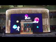 Amazing Digital Store Brand Experience of Louis Vuitton     LED Display ... Led Display Screen, Stage Design, Louis Vuitton, Digital, Store, Amazing, Interior, Set Design, Louis Vuitton Wallet