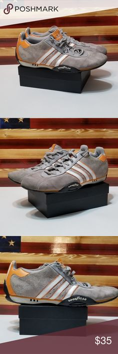 new styles 76224 553a8 Adidas Goodyear Adi Racer Driving Racing Sneaker Adidas Goodyear Adi Racer  Driving Racing Sneaker Shoes Suede