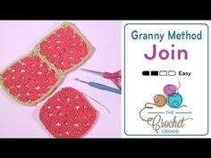 Learn how to attach your grany squares together using your crochet hook with the final round of each granny square. This is much simpler than it appears and ...