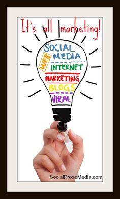 Yes. Yes it is! Internet Marketing, Media Marketing, Social Media Channels, Articles, Blog, Blogging