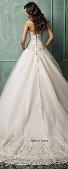 Amelia Sposa 2014 Wedding Dresses -