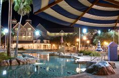 Swim In This Amazing 3 Acre Sand Bottom Pool Disney World S Yacht And Beach Club Resorts