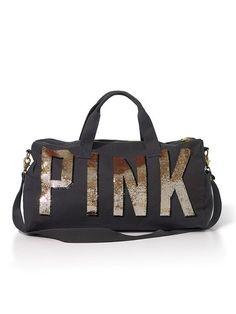 Victoria's Secret PINK Bling Duffle Bag #VictoriasSecret http://www.victoriassecret.com/pink/bling-it-on/bling-duffle-bag-victorias-secret-pink?ProductID=85558=OLS?cm_mmc=pinterest-_-product-_-x-_-x