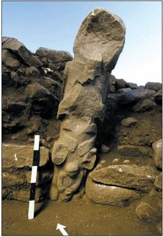 Gobekli Tepe Objects | The totem pole is likely related to the well-known skull cult.