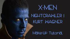 X-MEN   NIGHTCRAWLER   Kurt Wagner  Marvel Comics   Special FX   Hallowe...