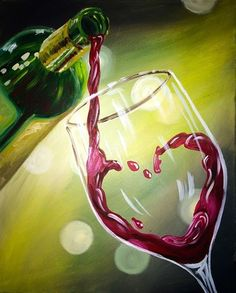 Wine & Design Rahway, NJ Top Choice to Paint and Sip Wine Get Your Art Buzz On, Call Us Today at Wine & Painting Parties Osiris Tattoo, Wine Painting, Woman Painting, Wine And Canvas, Image Nature, Wine Art, Wine Design, Paint And Sip, Wine Parties