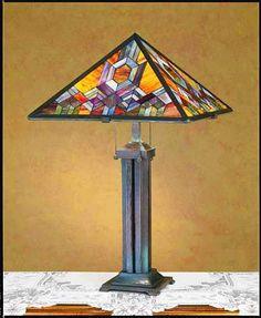Prairie Mosaic Table Lamp