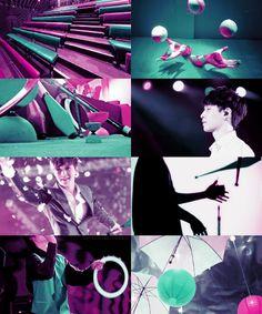 Le Cirque des Reves // EXO // Lay as the Juggler
