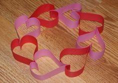 Paper Heart Wreath Tutorial for Valentine's Day Paper Crafts For Kids, Crafts For Kids To Make, Fun Crafts, Diy And Crafts, Arts And Crafts, Kids Diy, Valentines Day Activities, Valentines For Kids, Stem Projects