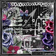 Digital Signature Kit - $4.99 : #Digital Scrapbooking Studio #SKrapperDigitals