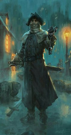 The Night Watchmen of Valetown have a reputation for ferocious skill with their blades, and a no nonsense approach to enforcing the laws of town and realm...