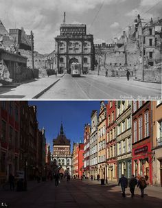 I Photographed Gdańsk, Old City That Was Destroyed During War, And Rebuilt By Polish People 1000 Years, Old City, World War Two, Poland, Germany, Louvre, Europe, Building, Places