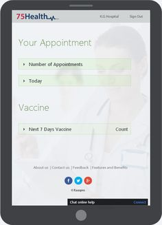 Electronic health records for doctors, clinics, individuals and hospitals with a fully featured software from 75health