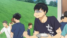 "kurooto: "" Kageyama being the dork that he is and Akaashi being the mom he is"