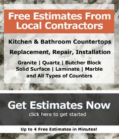 Kitchen counters materials costs