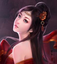 Beautiful Chinese girls by Yu-Han Chen. Yu-Han is an artist from Taiwan who's currently living in Beijing, China.