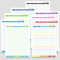 Checkbook Register    X  L  Printable Forms