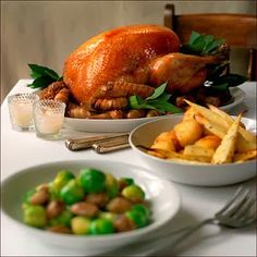 Win Delicious Food For Christmas Dinner! Whole Turkey Recipes, Food N, Food Festival, Meal Planning, Yummy Food, Favorite Recipes, Dishes, Christmas Meals, Eat