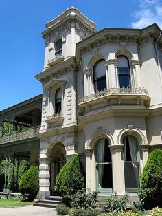 Victorian era Italianate mansion - Halcyon, St. Kilda