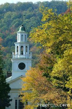 woodstock vermont | The First Congregational Church of Woodstock, Vermont pictures, free ...