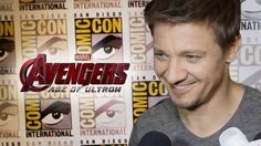 Jeremy Renner Talks Hawkeye In Avengers 2 Age of Ultron - Comic Con 2014 (Can't wait to get a handful of Hawkeye personality!)