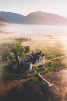 Inspiration for Inverfyre in The Runaway Bride, book 2 of the Brides of Inverfyre series of #medieval #Scottish romances by #ClaireDelacroix