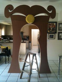 Τεραστια πόρτα από φελιζόλ! Απειρες δυνατότητες! Key hole in the making