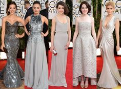 Cheers to one of the Golden Globes Red Carpet trends: #Platinum!