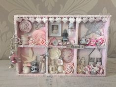Mini shabby chic configuration box.