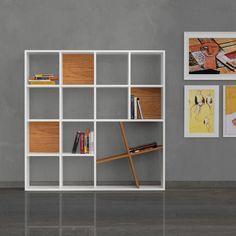 Decortie Honey Bookcase