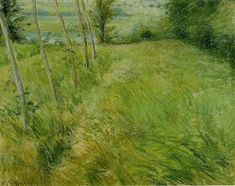 camille pissarro(1830-1903), landscape at pontoise, c. 1882. pastel on linen, 34.9 x 43.5 cm. private collection   http://www.the-athenaeum.org/art/detail.php?ID=11885