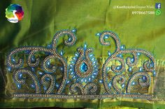 Silk Saree Blouse Designs, Blouse Patterns, Aari Work Blouse, Hand Designs, Embroidery Designs, Stitching, Jewelry Design, Bangles, Collections