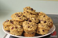 Baked Oatmeal Cups!  So delicious!