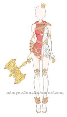 OC Aloise Outfit 1 by Aloise-chan.deviantart.com on @DeviantArt