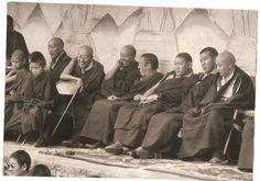 Gyaltap Rinpoche, Jamgon K Rinpoche, Beru Khentse Rinpoche, Thrangu Rinpoche, Tenga Rinpoche, Bokar Rinpoche and may be Pawo Rinpoche the young Tulks