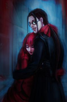 Grell Sutcliff and Madame Red by Daria-Rise