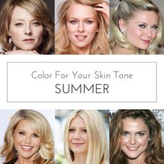 Best Colors for: Light Summer, Soft Summer, & Cool Summer Skin Tones - especially near the face