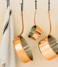 How to: Clean tarnished copper cookware - Style At Home