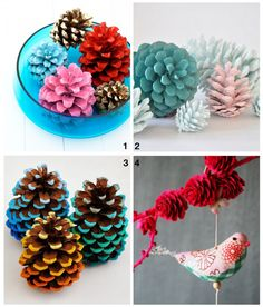 Mother Nature is very generous with her craft supplies and one of her most popular (and plentiful) items is pinecones! They are everywhere come fall and are a great base to create some really fun projects! I find that people use pinecones most commonly in three ways: painted...