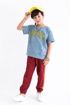 1c36fb60e SUPER Children's Clothes | Chao Brand Cotton Boys T-shirt Pocket Big Children's  Clothes Pure Cotton Printed Children's T-shirts In English